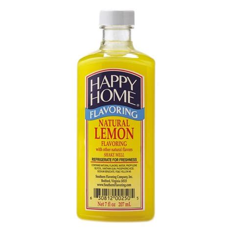 happy home products happy home natural lemon flavor blend happy home lemon
