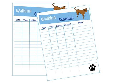 relay for walking schedule template walking schedule laminating idea center