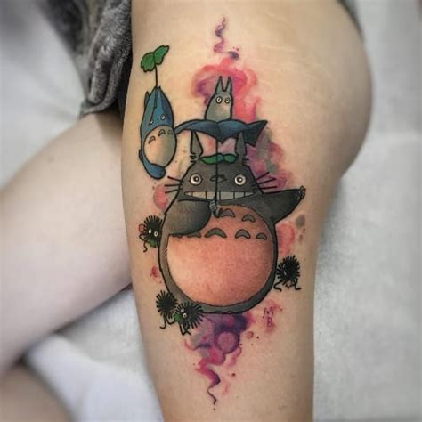 totoro tattoo totoro by michela bottin