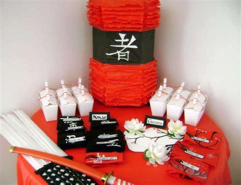 Birthday Decorations For Husband At Home by Asian Ninja Karate Chinese Japanese Birthday Quot Ninja Nino