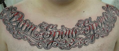 tattoo your name across my chest tattoo tuesday no 34 senses lost