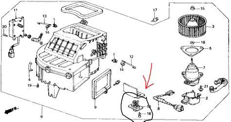 how to test blower motor resistor honda blower motor resistor test honda