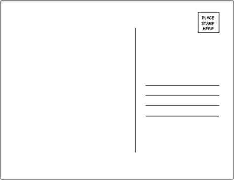 blank greeting card template psd 19 postcard templates free psd eps ai format