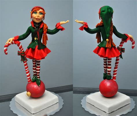 Fondant Shelf by Topper She Made From Fondant No Molds Used