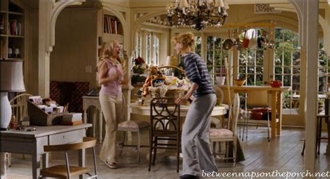 the kitchen movie bewitched tour the adorable cottage house in the movie