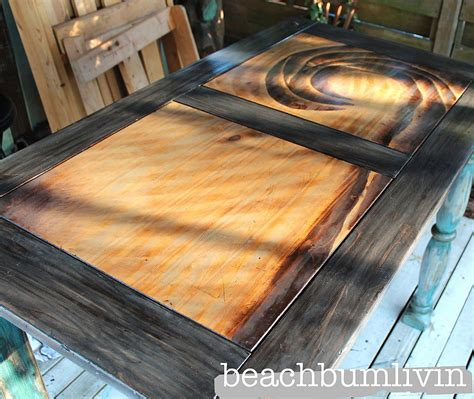 painting stained woodwork 15 times stain stole the spotlight in a furniture flip