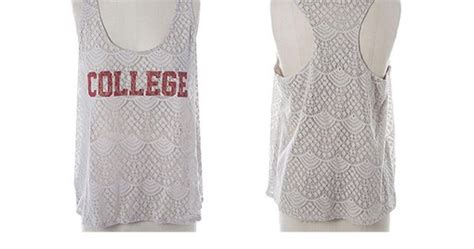 College Sports Giveaways - giveaway college tank the style ref the fashion authority for sports fans