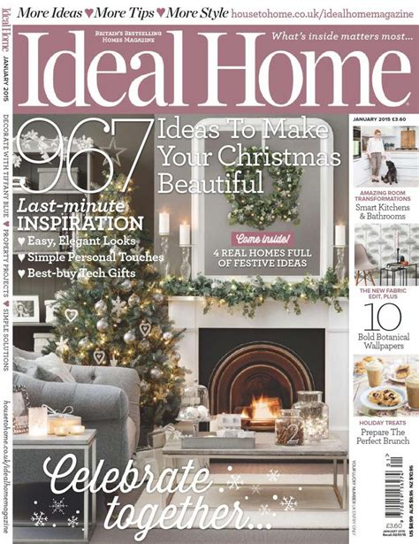 ideal home uk magazine april 2015 issue get your digital ideal home january 2015 uk revistas pinterest