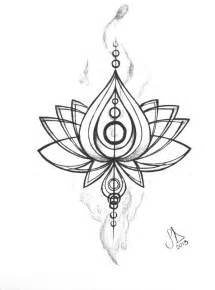 Lotus Flower Design Lotus Flower Design Ink Chakra