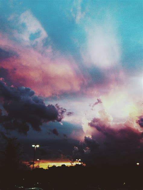 cotton candy colored sky pictures   images