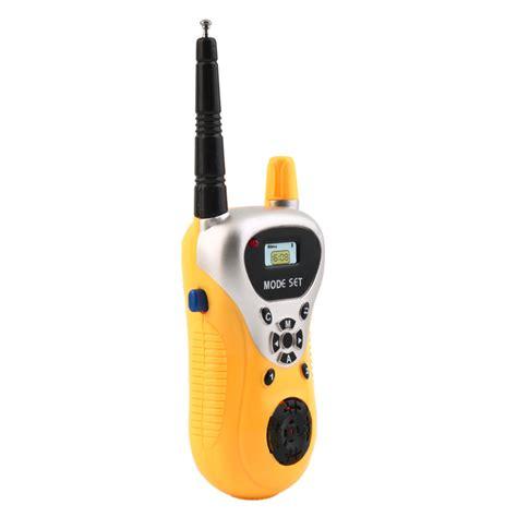 Mainan Cowok 1 ji yuan mainan walkie talkie 1 pair yellow jakartanotebook