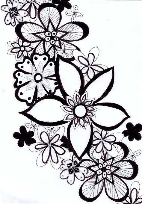 doodle drawings images drawing flower doodles 17 ideas about doodle flowers on