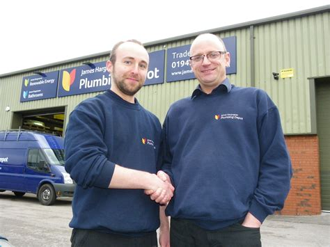 Hargreaves Plumbing by Plumbing Depot In Wigan Strikes A Record Deal By Looking