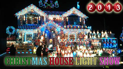 Christmas house light show 2013 best christmas outdoor decorations in
