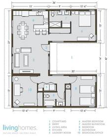 eco friendly floor plans eco friendly houses living homes prefab