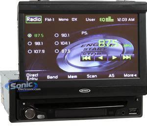 jensen vm single din  dash car stereo  ipod controls