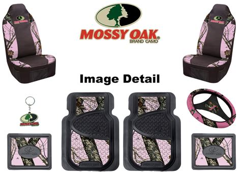 pink camo seat covers set mossy oak floor mats and pink camo on