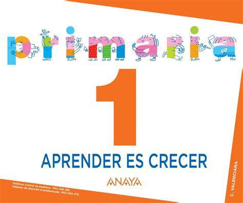 aprender es crecer lengua aprender es crecer 1 c valenciana by grupo anaya sa issuu