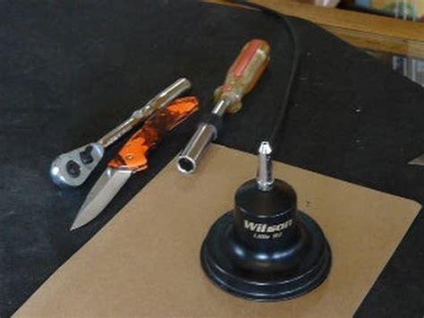 wilson  wil cb antenna disassemble  troubleshoot