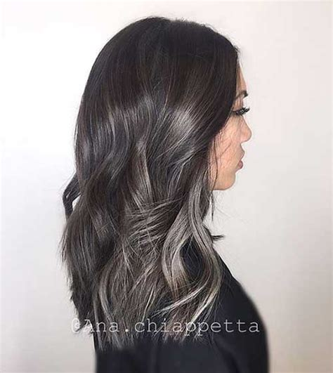 ashy hair color best ashy brown hair colors 20 pics hairstyles