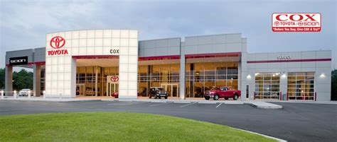 Toyota Dealers In Nc About Cox Toyota A Burlington Nc Dealership