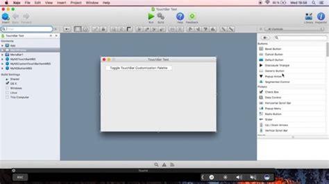 video tutorial xojo video about touchbar with mbs plugin xojo forum