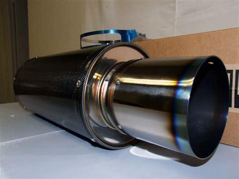 Buntut Knalpot Muffler Hks Universal hks universal carbon ti muffler