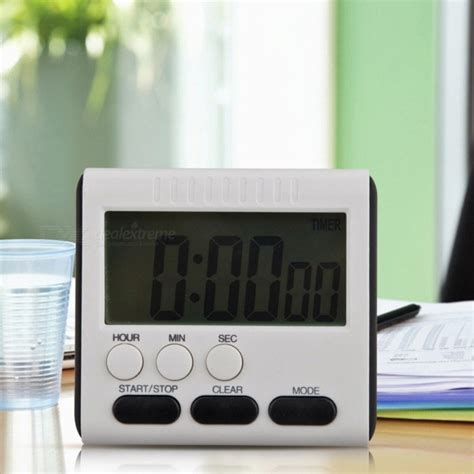 Kitchen Timer With Alarm by Magnetic Large Lcd Digital Kitchen Timer With Loud Alarm