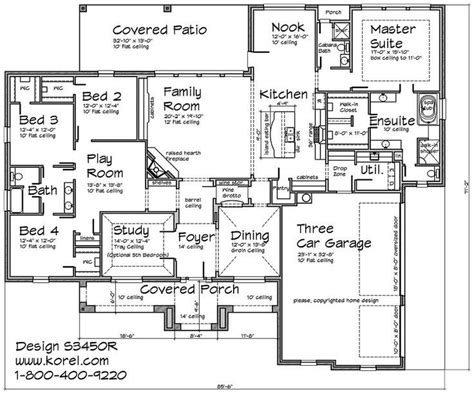 One Story Tuscan House Plans by Hill Country With A Touch Of Tuscan 1 Story Home