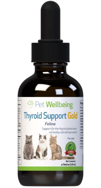 thyroid support gold cat hyperthyroidism support