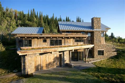 colorado home plans eco friendly modern rustic resindence in colorado digsdigs