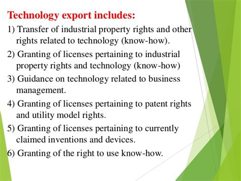 Mba In Technology Management Globe by Technology Exports Forecasting Global Trends In