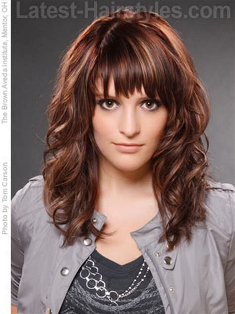 hairstyles with uneven bangs medium choppy hairstyles with bangs