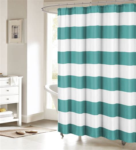 fabric shower curtains cheap memory home font fabric shower curtain nautical stripe