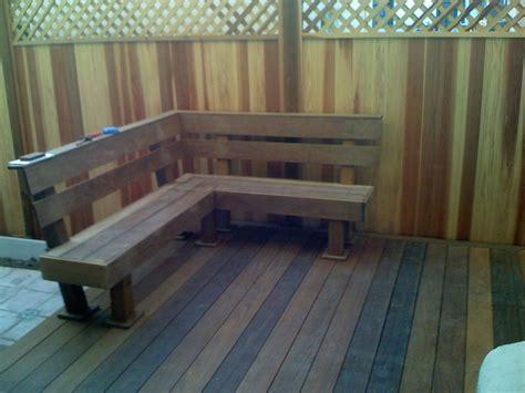 ipe deck bench  davethebuilder  lumberjockscom