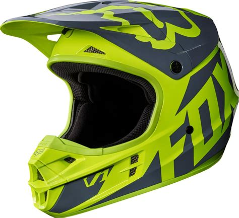 fox motocross helmets fox racing mens v1 race dot approved motocross mx helmet
