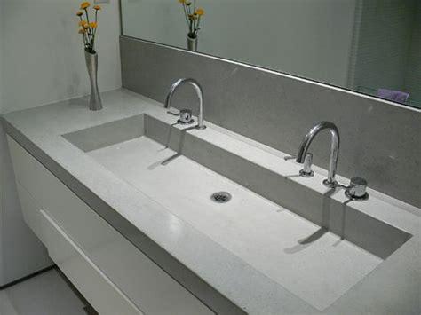 concrete countertop and sink best 25 concrete countertops bathroom ideas on
