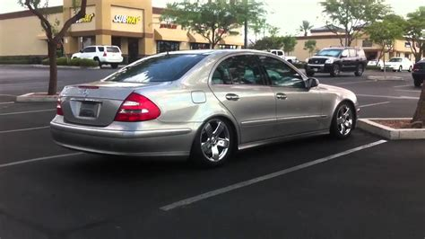 lowered mercedes 2005 e500 mercedes lowered walkaround