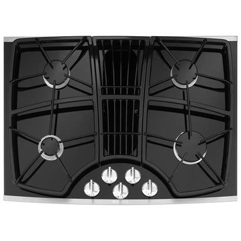jenn air gas cooktop with downdraft shop jenn air 174 30 inch downdraft gas cooktop color