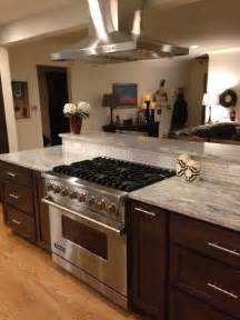 range in kitchen island denver kitchen remodel kitchens stove