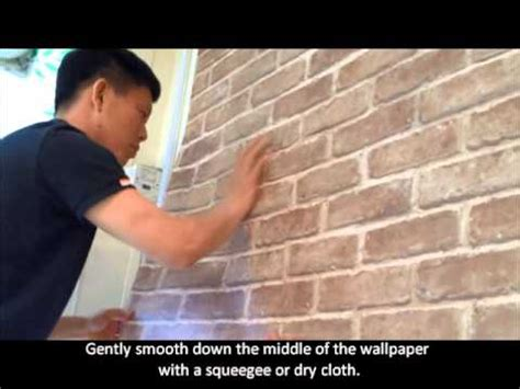easy apply wallpaper decowall how to apply sticky back wallpaper youtube