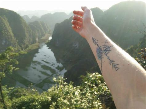 46 wanderlust tattoos for anyone obsessed with travel