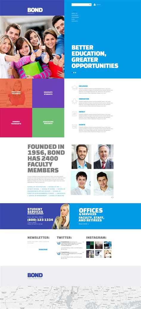 university website templates 17 best images about free website templates on pinterest