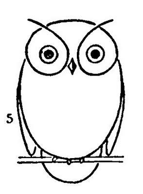 draw  owl  printable worksheet  graphics fairy