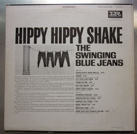 swinging blue jeans hippy hippy shake roots vinyl guide