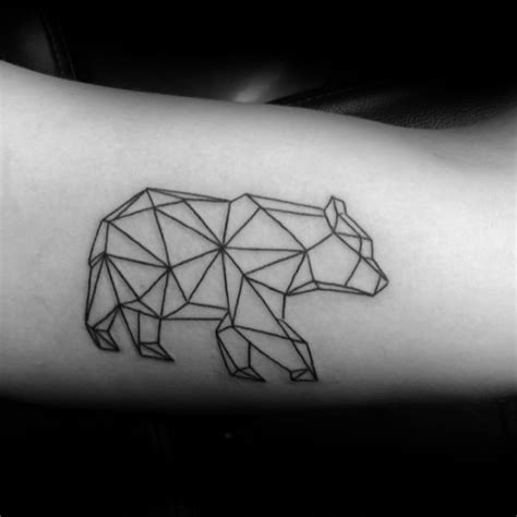40 simple geometric tattoos for men design ideas with shapes