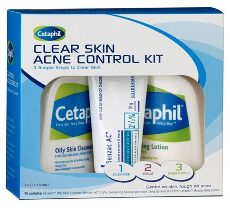 Cetaphil Kit cetaphil skin acne kit misc