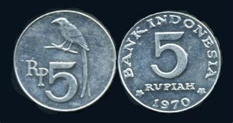 Uang 25 Sen Taun 1971 uang koin indonesia tahun 1952 1973 jaman dulu gambar