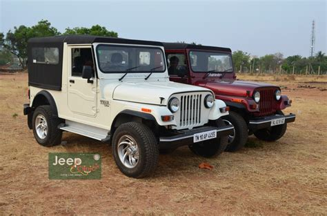 thar jeep white the gallery for gt mahindra jeep modified