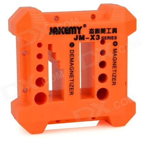 Jakemy Magnetizer Demagnetizer Jm X3 6sipb5 jakemy jm x3 pp screwdriver metal components magnetizer demagnetizer orange black free